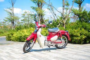 Soi chi tiết Honda Super Cup C125 giá 85 triệu vừa về Việt Nam