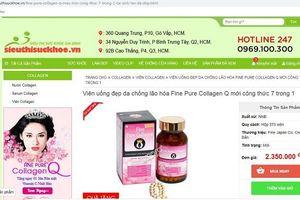 Cẩn trọng với quảng cáo thực phẩm bảo vệ sức khỏe trên website