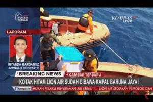 Tìm thấy hộp đen máy bay Lion Air gặp nạn tại Indonesia