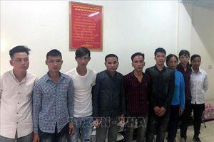 Bắt 9 đối tượng 'trấn lột' du khách nước ngoài ở hồ Hoàn Kiếm, Hà Nội