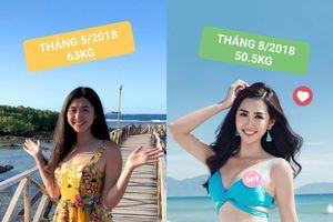 Người đẹp truyền thông Hoa hậu Việt Nam 2018 chia sẻ bí quyết giảm cân siêu tốc