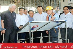 Đoàn công tác tỉnh Phú Yên tham quan khu kinh tế Vũng Áng