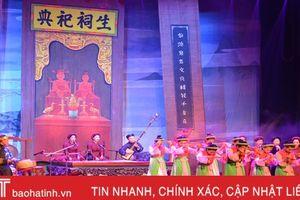 Khai mạc Liên hoan Ca trù toàn quốc năm 2018 tại Hà Tĩnh