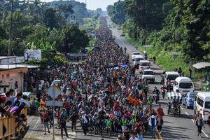 Nhiều đoàn người di cư mới trên đường đến Mỹ