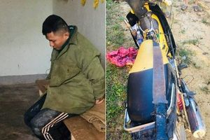 Người dân hô hoán bắt trói 2 kẻ mang hung khí đi trộm chó