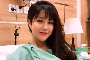 Diệp Lâm Anh vừa sinh con gái đầu lòng cho chồng thiếu gia