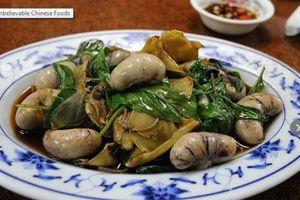 Những đặc sản Trung Quốc khiến thực khách nước ngoài ghê rợn