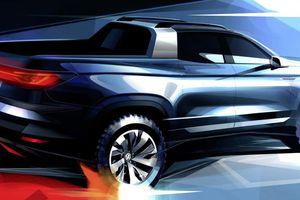 Volkswagen sẽ ra thêm xe bán tải cỡ nhỏ vào tháng 11 tới