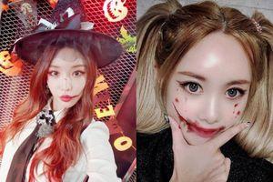 Có ai được như Idol Hàn, hóa trang ma quỷ Halloween mà vẫn 'xinh hết phần thiên hạ'