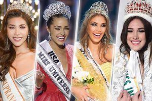 Loạt hoa hậu quốc tế 'không rơi' vương miện dù khỏa thân, 1 bức ảnh có 'hạ gục' Minh Tú?