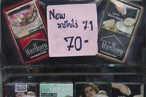 In hình khủng khiếp lên bao thuốc lá, bài học kinh nghiệm từ Thái Lan