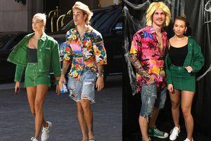 Justin Bieber và Hailey Baldwin trở thành nguồn cảm hứng hóa trang của giới trẻ Hollywood