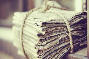 Đừng vội vứt những tờ giấy báo cũ - đây là 'cô tiên xanh' cho ngôi nhà của bạn