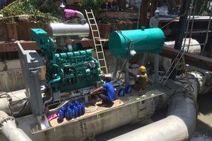 TPHCM: Chưa tạm ứng tiền thuê 'siêu máy bơm' chống ngập