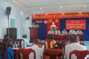 Đại biểu HĐND tỉnh Khánh Hòa tiếp xúc cử tri các địa phương