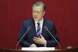 Tổng thống Hàn Quốc kêu gọi Quốc hội hợp tác trong tiến trình thiết lập hòa bình với Triều Tiên