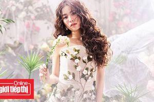 Ngọt ngào 'nàng tiên hoa' Hoàng Thùy Linh