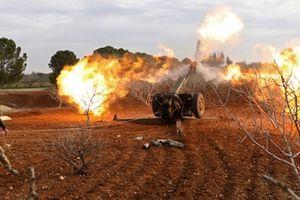 Chảo lửa Idlib 'rung bần bật' vì các đòn pháo kích ồ ạt của Syria
