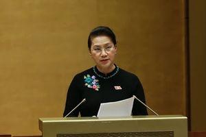 Quốc hội ghi nhận sự nghiêm túc, cầu thị, tinh thần trách nhiệm của các thành viên Chính phủ