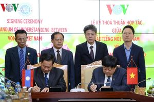 VOV và Đài Phát thanh Quốc gia Lào ký Thỏa thuận hợp tác