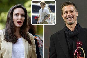 Angelina Jolie sốc khi 6 người con đều muốn sống với Brad Pitt
