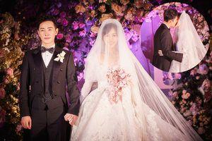 Đường Yên - La Tấn 'khóa môi' ngọt ngào trong đám cưới cổ tích