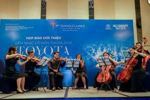 Đêm nhạc Cổ điển Toyota 2018 trở lại với Dàn nhạc Anh quốc – Orchestra of the Age of Enlightenment