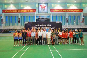 Lật ngược tình thế vào phút chót tại Giải bóng bàn các CLB toàn quốc 2018 diễn ra tại Lạng Sơn