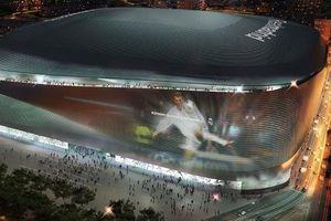 Chiêm ngưỡng SVĐ mới của Real Madrid: Một kiệt tác khổng lồ 'lấy lòng' thế giới