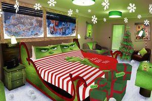 Giáng sinh tới gần, khách sạn theo chủ để của bom tấn Grinch đã mở cửa