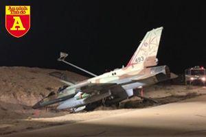 Siêu tiêm kích Israel cắm mũi xuống đất khi đang mang đầy vũ khí mạnh cỡ nào?