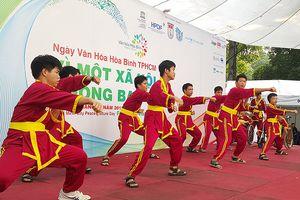 'Xe lăn đao' của môn phái Việt Nam võ đạo Tây Sơn Bình Định