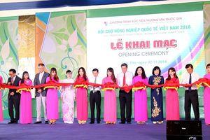300 doanh nghiệp dự hội chợ nông nghiệp quốc tế