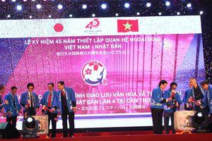 Từng bừng lễ hội giao lưu văn hóa Việt Nam-Nhật Bản