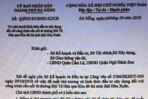 Giả mạo văn bản của Chủ tịch UBND TP Đà Nẵng để tạo 'sốt đất'