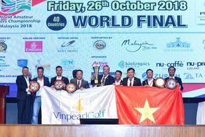 Những khoảnh khắc làm nên kỳ tích vô địch WAGC thế giới của đội tuyển golf Việt Nam