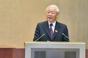 Lần đầu Tổng Bí thư, Chủ tịch nước trình QH hiệp định quan trọng