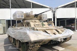 Sốc nặng cách Trung Quốc biến T-55 thành xe hỗ trợ xe tăng