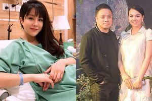 Diệp Lâm Anh, Đinh Ngọc Diệp sinh con đầu lòng trong cùng 1 ngày