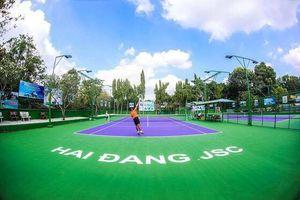 Thêm sân chơi quần vợt phong trào Giải báo Thanh Niên mở rộng Cúp Hải Đăng