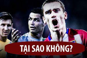 Griezmann tự tin tranh chấp với Ronaldo, Messi rồi...giải nghệ tại MLS