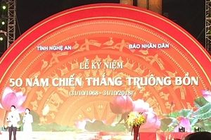 Long trọng tổ chức Lễ kỷ niệm 50 năm chiến thắng Truông Bồn