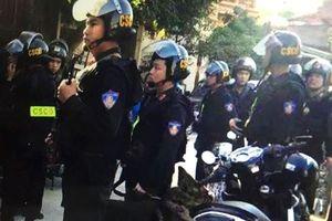 Cảnh sát cơ động truy bắt kẻ cứa cổ giết lái xe ôm