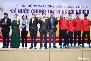 Bưu điện Việt Nam cùng Đội tuyển Bóng đá Quốc gia chung tay vì người nghèo