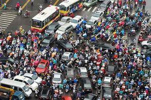 Cho phép Hà Nội thu phí vào nội đô để giảm ùn tắc