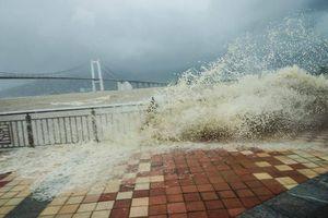 Bão số 7 suy yếu thành áp thấp nhiệt đới, không còn gây ảnh hưởng nhiều đến biển Đông