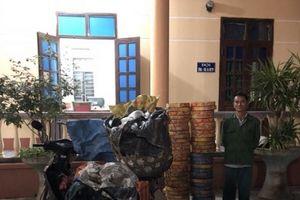 Thu giữ pháo, bánh kẹo Trung Quốc nhập lậu về Việt Nam tiêu thụ
