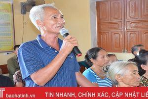 Hơn 100 cuộc đối thoại ở Thạch Hà, người đứng đầu lắng nghe 1.700 ý kiến nhân dân