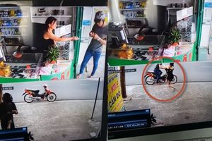 Nghi vấn clip cô chủ tóm tên cướp cầm ĐTDĐ bỏ chạy nhưng đạp xe không nổ