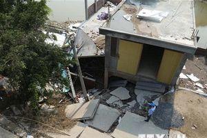Thái Nguyên: Xác định nguyên nhân gây sụt lún đất khu vực Trại Cau